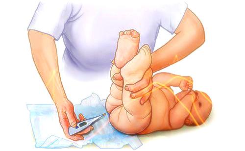 Какая нормальная температура тела для ребенка 9 месяцев