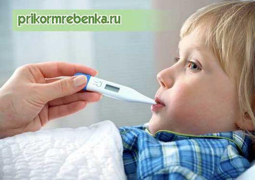 Сбить температуру у ребенка водкой пропорции