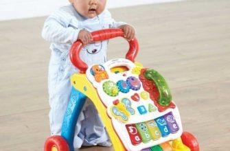Как правильно выбрать ходунки для малыша?