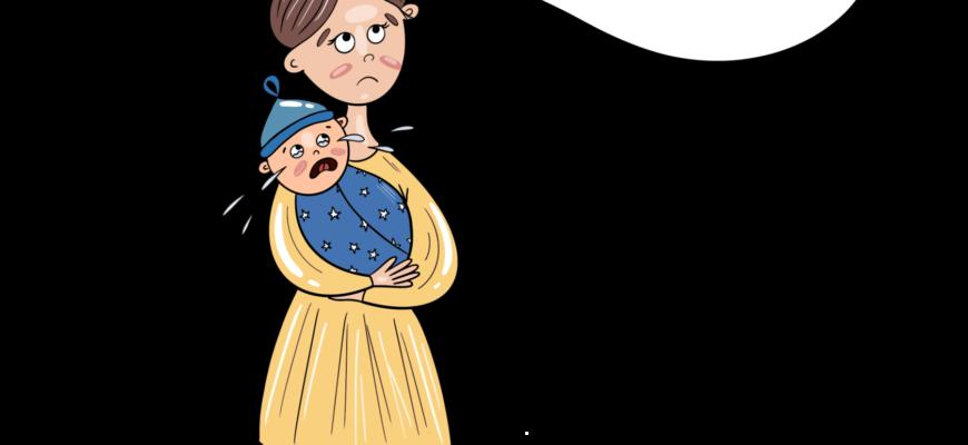 Почему маленький ребёнок может плакать